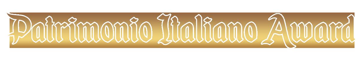 Patrimonio Italiano Award